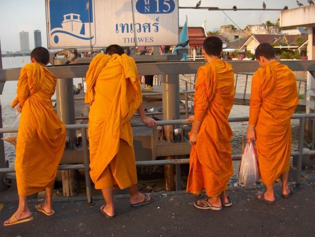 Bangkok monniken