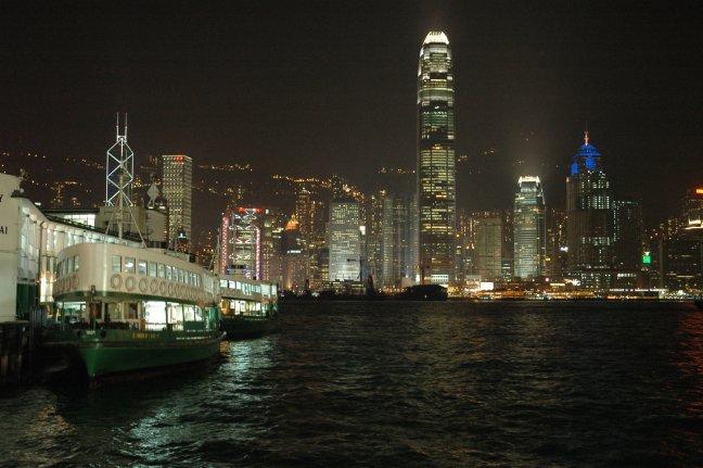 Ferry HongKong Island