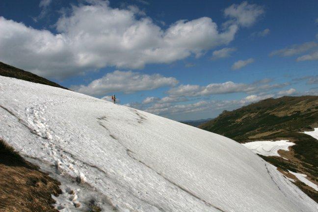 july at Chrnogora range