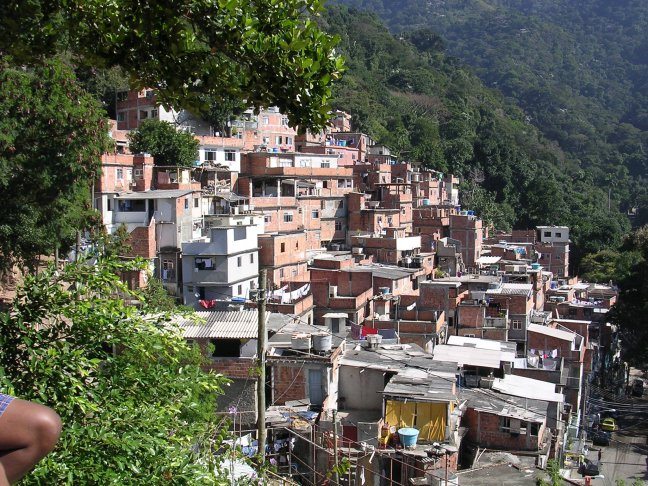 Rio, favela