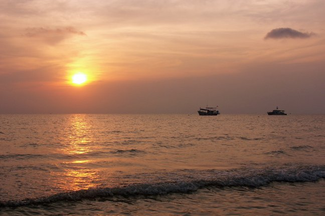 Sundown, Khlong Prao beach Ko Chang.(3033u2ae)