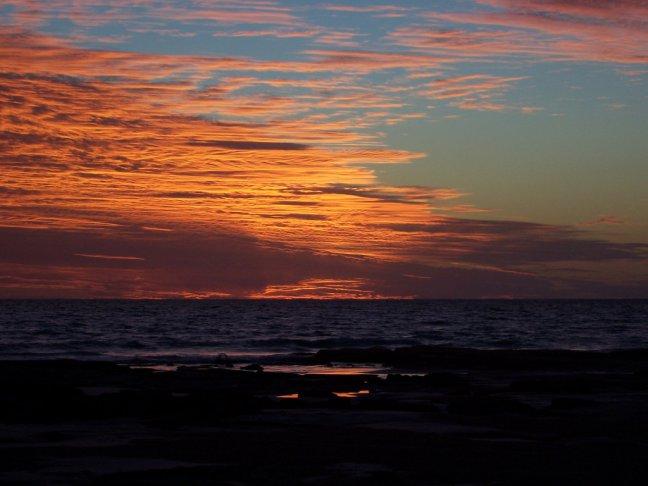 Beroemde zonsondergang