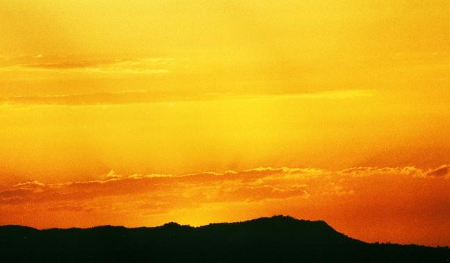 oranje gloed