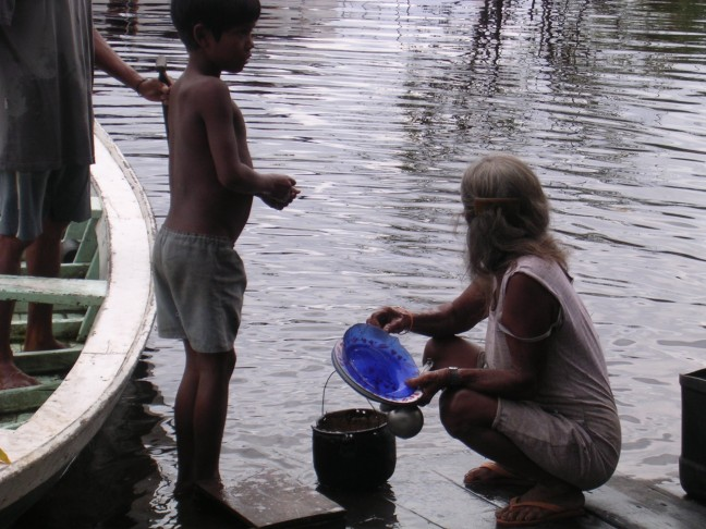 Amazone, Indianen