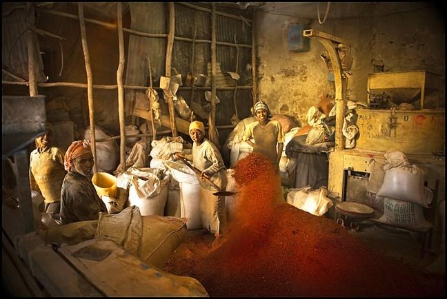 De meiden van de peperfabriek ...