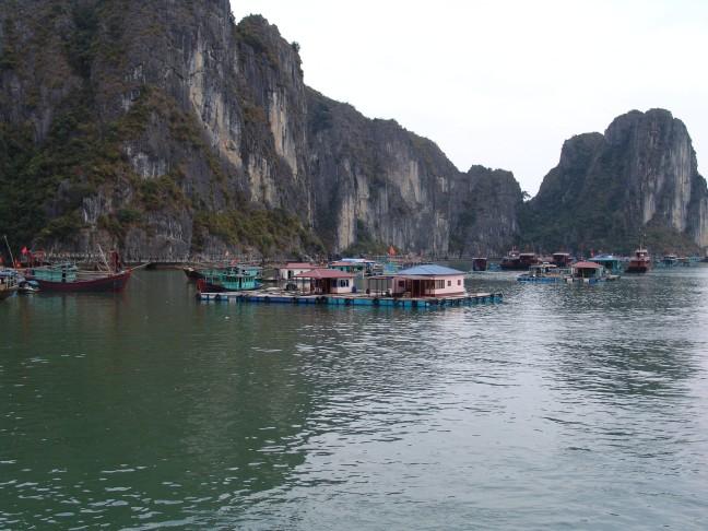 drijvend dorp