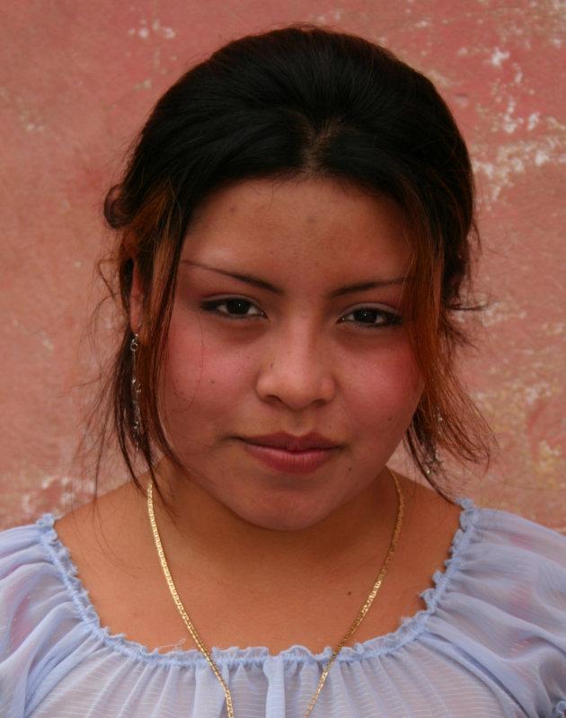 meisje in San Juan