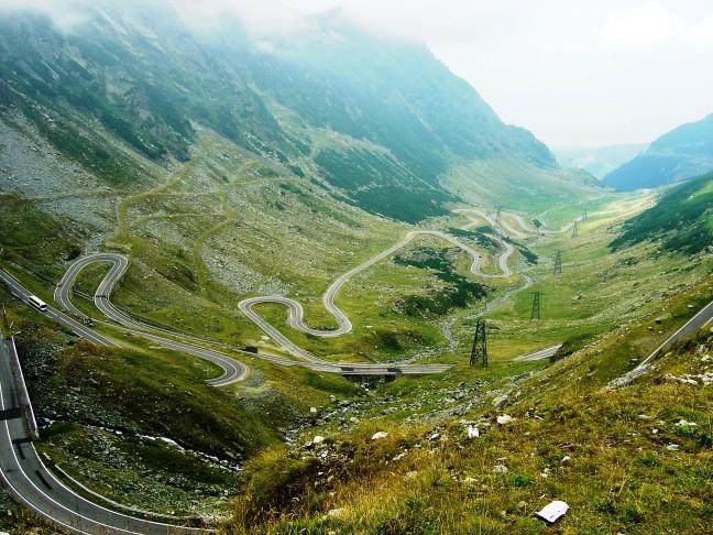 Transfagarasan-road