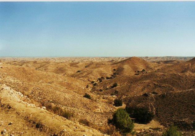 Maanlandschap van Matmata