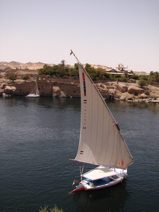 Feluca op de Nijl