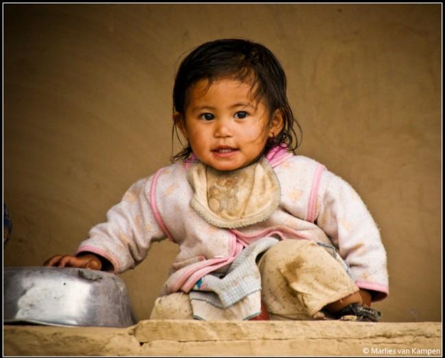 Meisje in Ghandruk