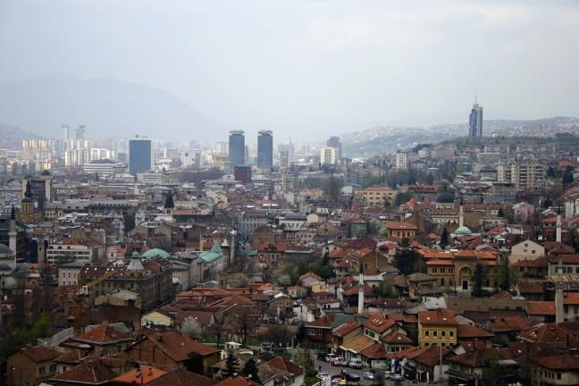 Sarajevo stadgezicht