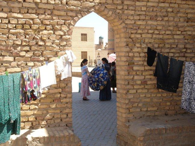 Doorkijkje in Khiva