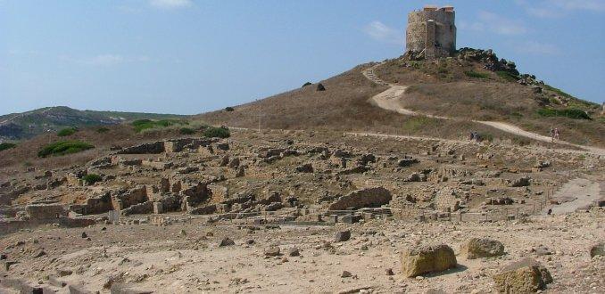 Ruine stad Tharros