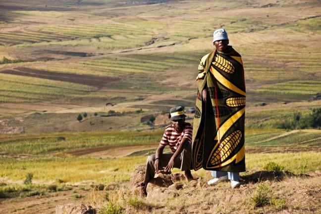 Typisch Lesotho