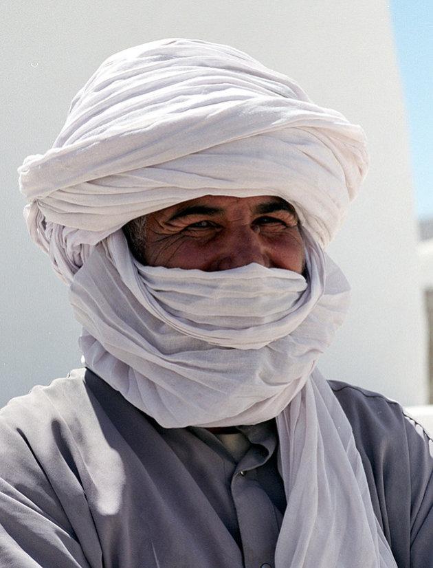 Bewoner Ghadames.