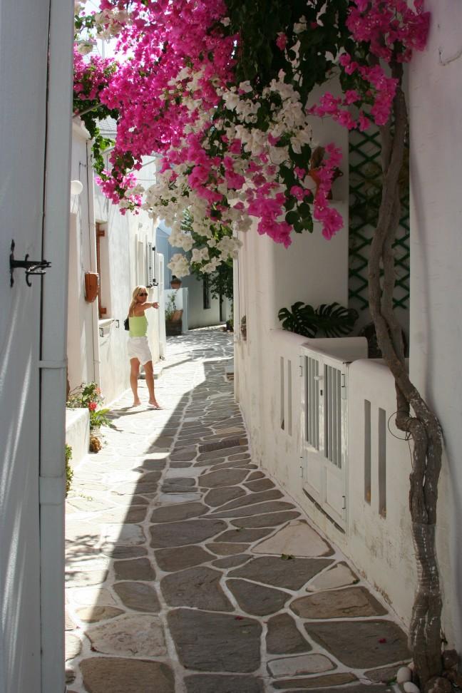 Steegjes op Paros
