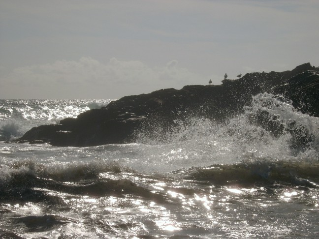 Woeste zee Bretagne