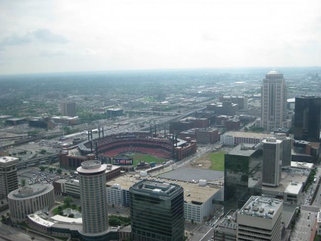 Uitzicht op St. Louis