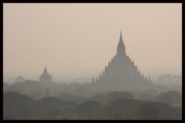 Bagan in de vroege ochtend