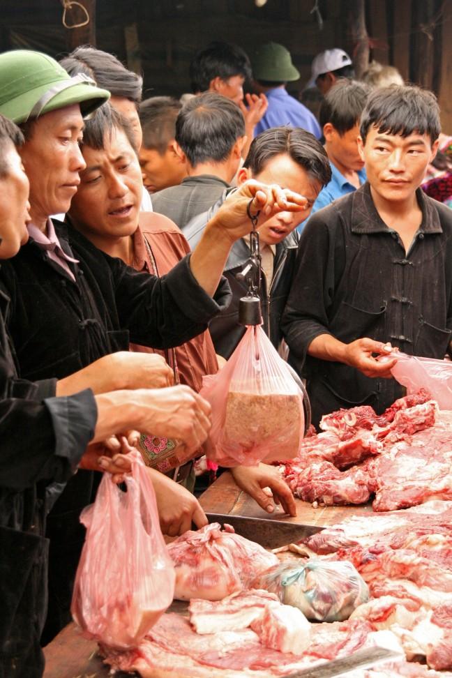 Vlees wegen
