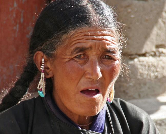 Ladakhi vrouw
