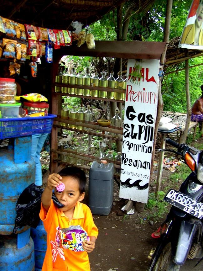 Tankstation en Shop