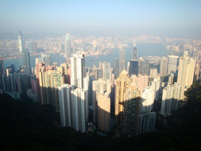 Breathtaking view Hong Kong