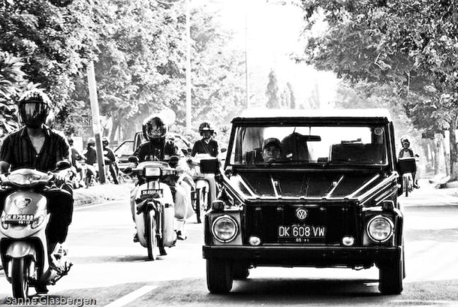 Ons vervoermiddel in Bali