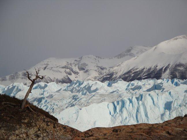 Extreme gletsjer Perito Moreno in El Calafate