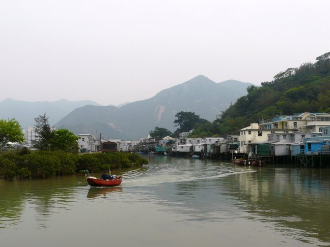 tai o - vissers dorpje
