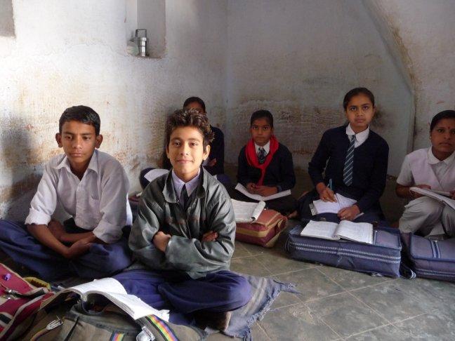 schoolklas in mandawa