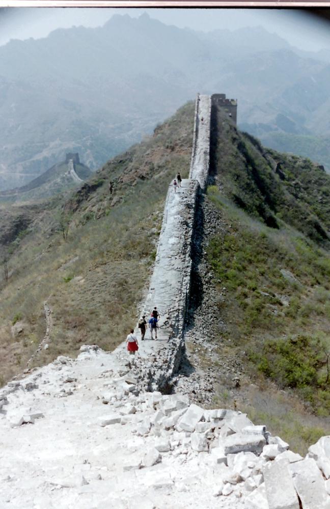 Chinese muur Simatai