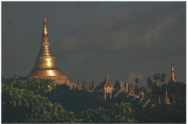 Monsoon in Myanmar