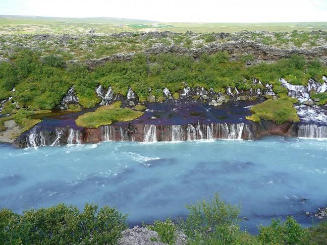 Lavawatervallen