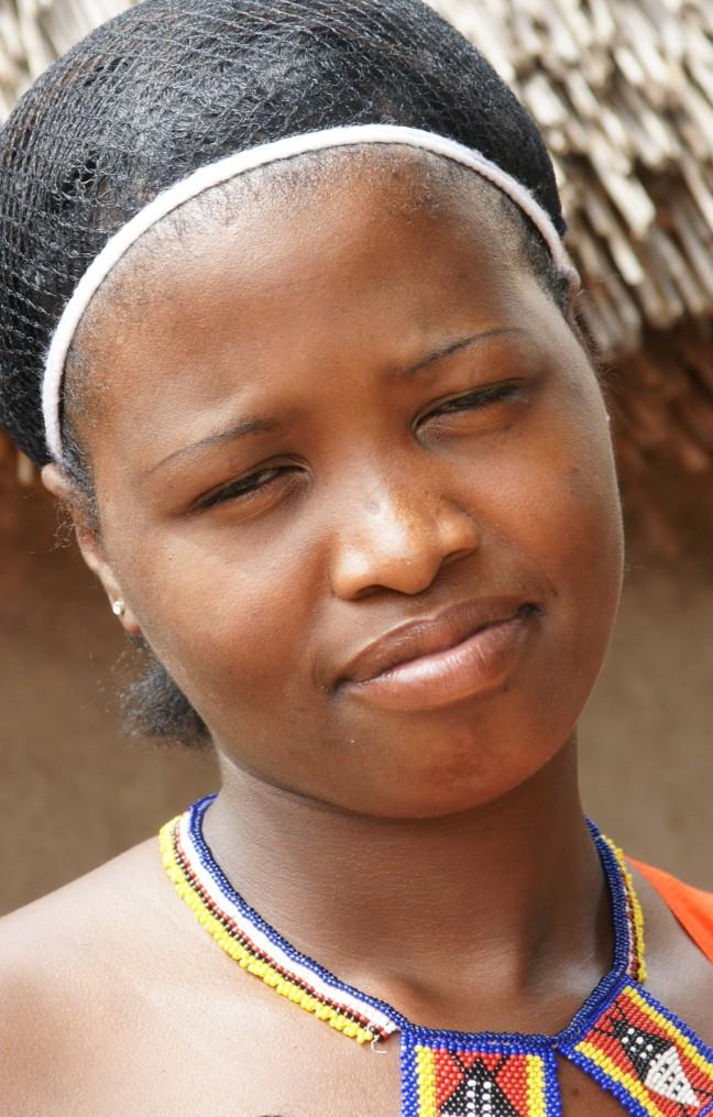 Zulu-meisje