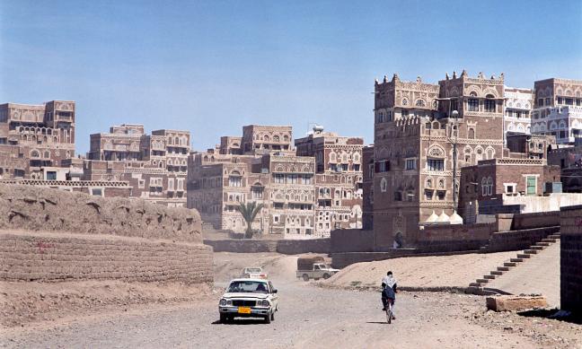Wadi in Sana'a