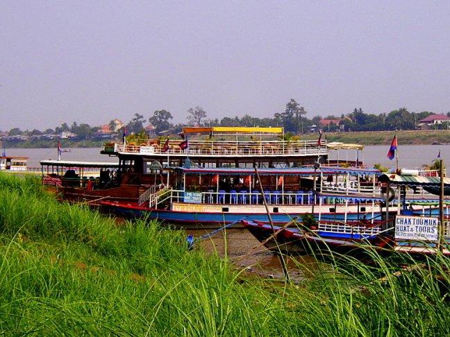 Bootjes op de Mekong