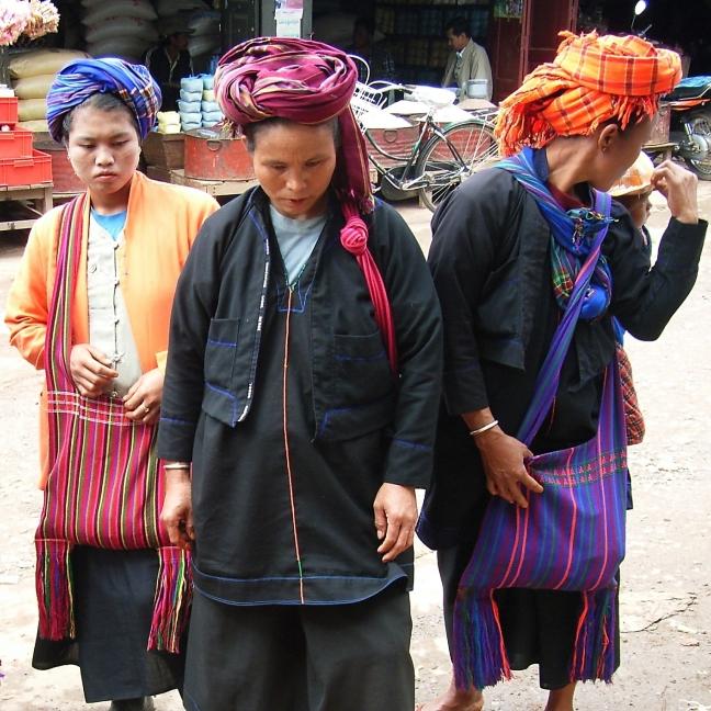 Shan vrouwen