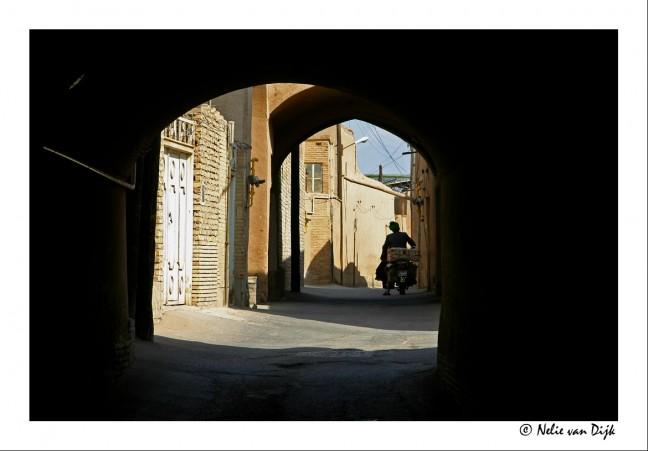 Door de straten van Yazd
