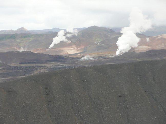 Op de krater