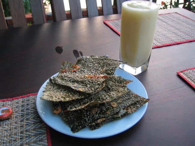 Snacken langs de Mekong