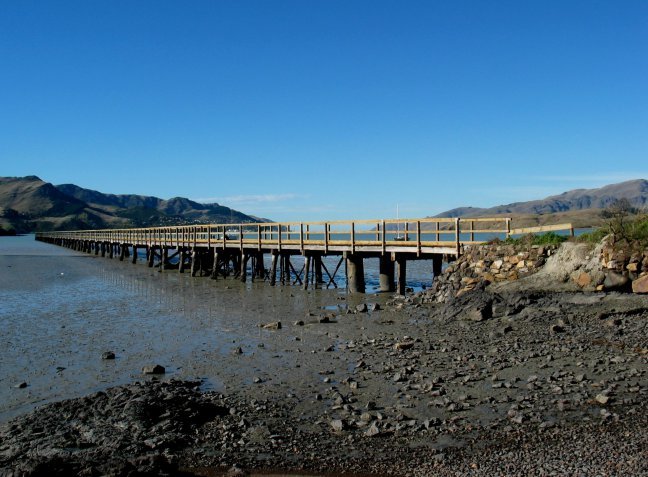Governors bay jetty