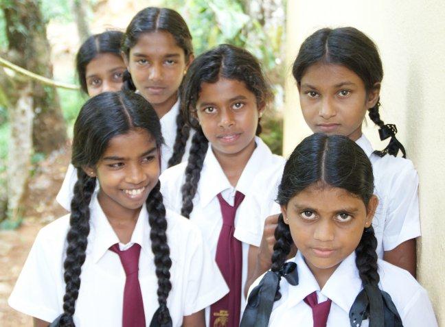 schoolmeisjes