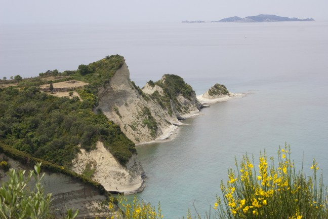 Noord kust Corfu