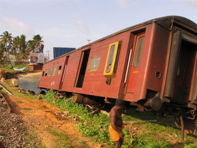 Ontspoorde trein