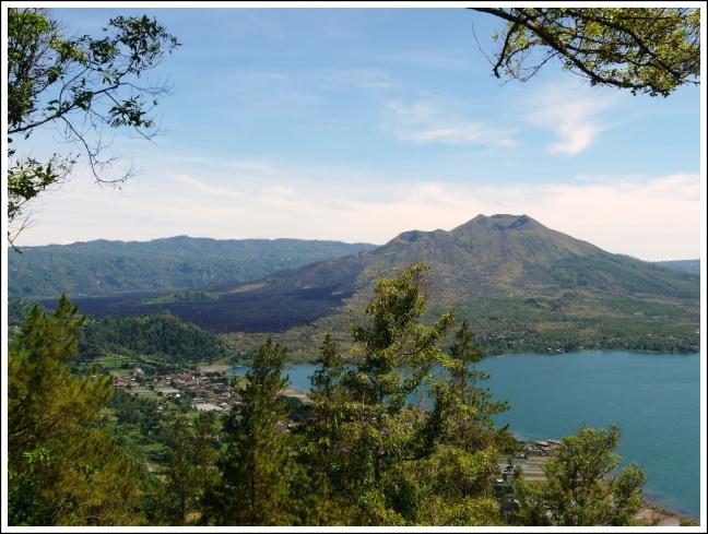 vulkaan gunung batur