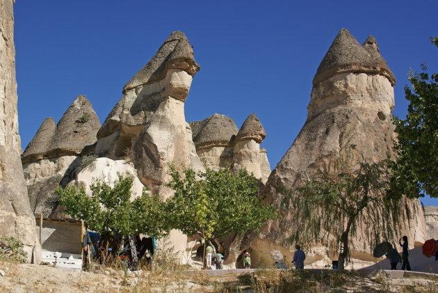 The fairy chimenys of Capadocia