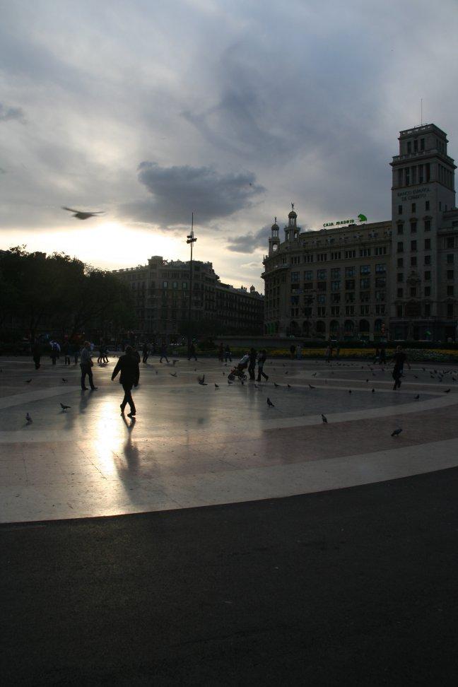 Plaza de la Catalunya