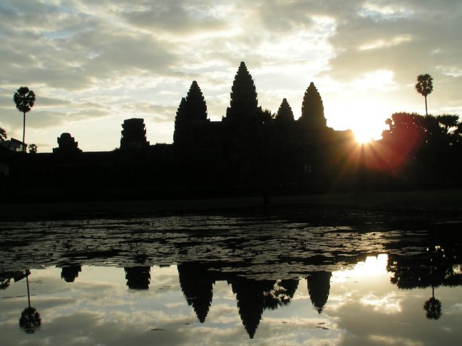 Sunrise @ Angor Wat